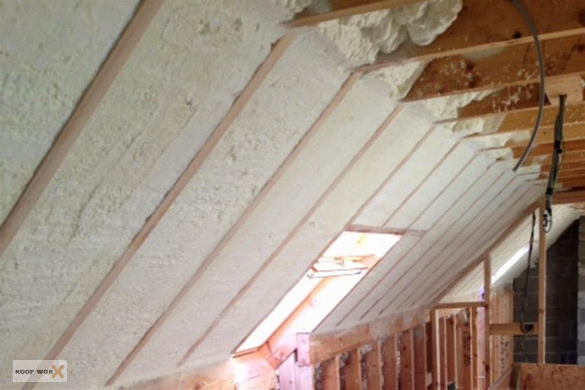 Attic insulations roof worx dublin for New home insulation