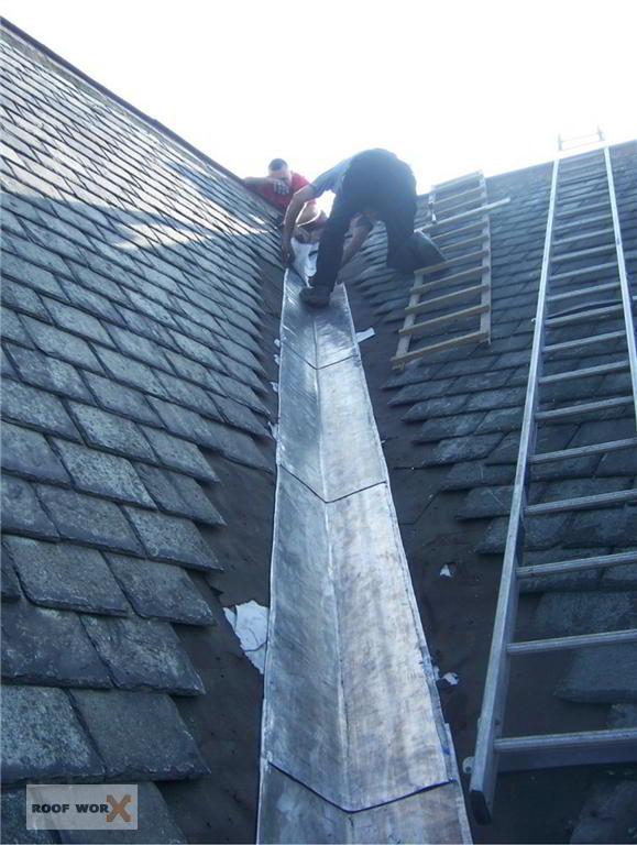 Lead Flashing Repairs Roof Worx Dublin
